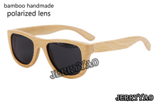 HandMade Bamboo Sunglasses Women Polarized Sun Glasses Men Outdoors Sport Sunglass