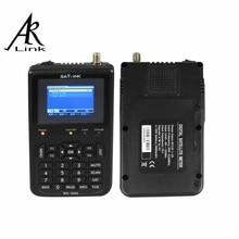 1 unid Satlink WS-6906 3.5 «DVB-S FTA de Datos de Satélite Señal Buscador de Medidor de satélite metros satélite receptor ws 6906 satlink ws6906