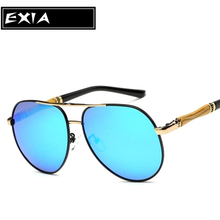 Sunglasses for Men with Polarized TAC Blue Mirror Coatings EXIA OPTICAL KD-203 Series