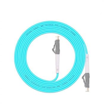цена на 5PCS/lot LC/UPC -LC/UPC OM3 Fiber Optic Patch Cord 3m 5m 10m 20m 25m 30m 10G 50/125 Fiber Cable Multimode Simplex Optical Jumper