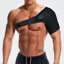 Shoulder Protection Adjustable Guard for Dislocated Joint Pull injury protection Single Immobilizer Strap
