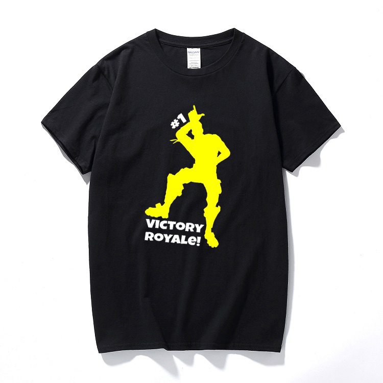 Summer top camisetas Fortnite victory royale battle gaming t-shirt PS4 xbox one gamers youtuber tee Cotton short sleeve t shirt