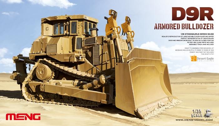 1/35 D9R Teddy Bear Armoured Bulldozer SS-002