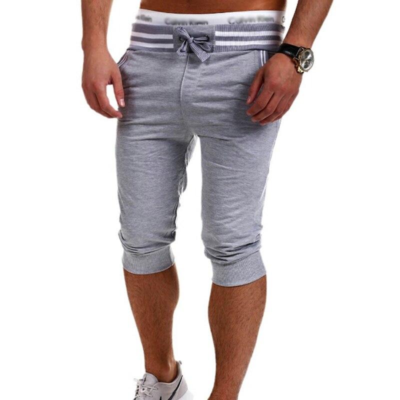 2018 Mens Shorts Casual Bermuda Brand Solid color Compression Male Cargo Shorts Men Fashion Men Short Summer size XXXL