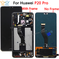 6.1LCD Huawei P20 Pro LCD with frame Display Screen Touch Digitizer Assembly P20 Pro CLT AL01 Lcd P20 Plus Display