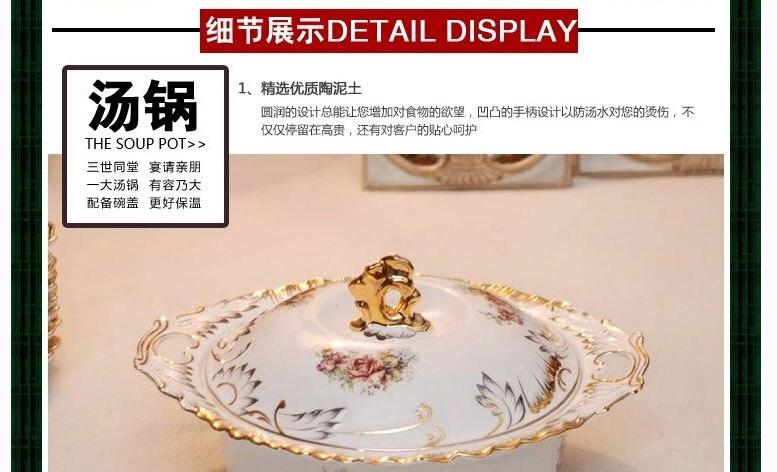 The dishes set ceramics tableware 70 skull bowl disc Chinese Korean wedding gifts household contracted HTB1KX6RRXXXXXcxXFXXq6xXFXXXY