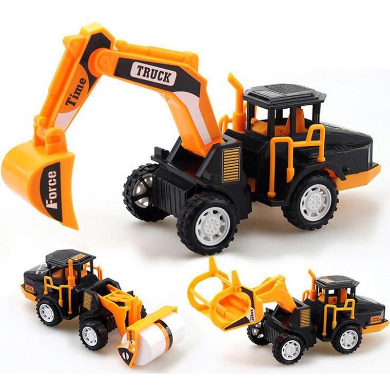 ניו סימולציה בינוני אינרציה חפירה דגם רכב צעצועים ילדים צעצועים צעצועים