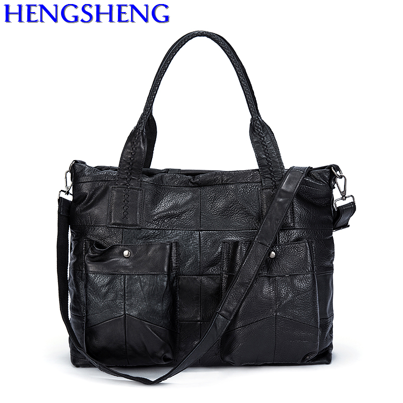 Free Shipping hot sale genuine leather women shoulder bags with cow leather ladies messengers bags and fashion female handle bag