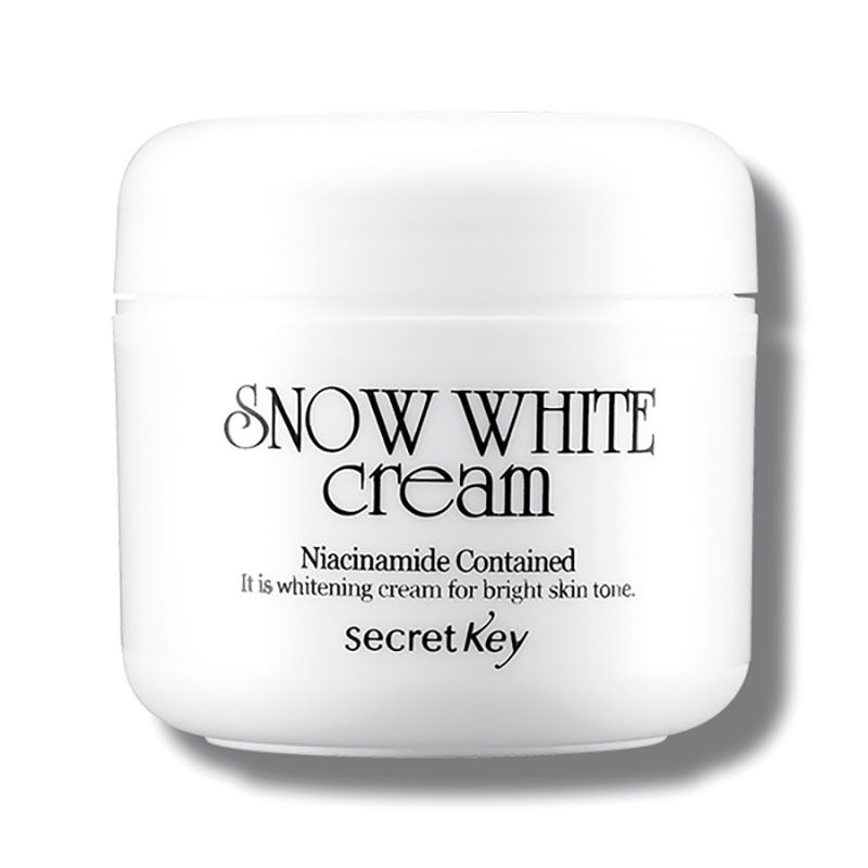 SECRET KEY Snow White Cream 50g Day Cream Face Skin Care Moisturizing Whitening Cram Brighten Skin Facial Cream Korea Cosmetic secret key snow white milky pack 200g korea face mask moisturizing skin whitening anti aging facial mask beauty