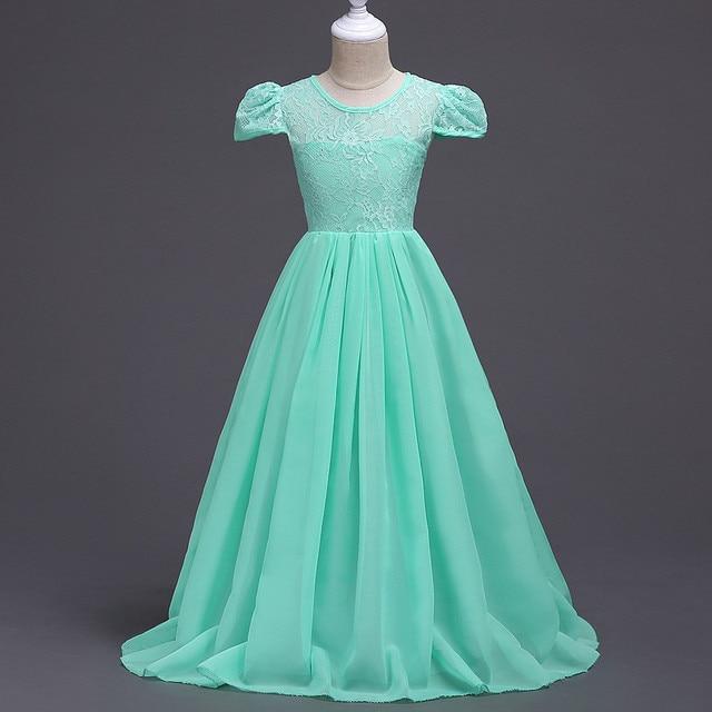 Купить 2019 новый дети девушки свадебное для девочек в цветочек платья картинки
