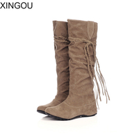 New Snow Boots 2016 Winter Brand Warm Non Slip Waterproof Women Boots Height Increasing Casual Cotton