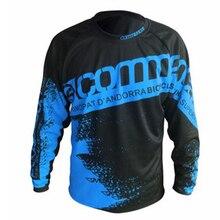 цена на 2019 Mens Limit mtb jersey DH MX BMX Mountain Bike SE Pro motocross jersey ATV Cross-Country Racing enduro motocross