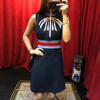 WW01658 Hot sale New Fashion Women 2018 Autumn Dress Popular Brand Fashion Design Women dresses Party style dress