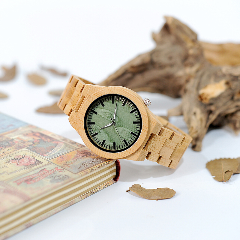 BOBO BIRD B22 Ανδρικά Μπαμπού Ξύλο Wristwatch - Ανδρικά ρολόγια - Φωτογραφία 4