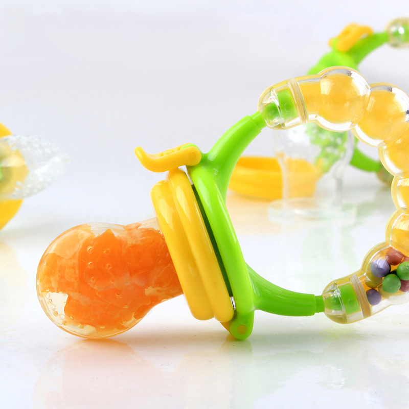Baby Pacifier Clips Non-toxic Silicone Soother Holder Kids Dummy Food Sucking Nipple Bottles Safe Baby Feeding Teether