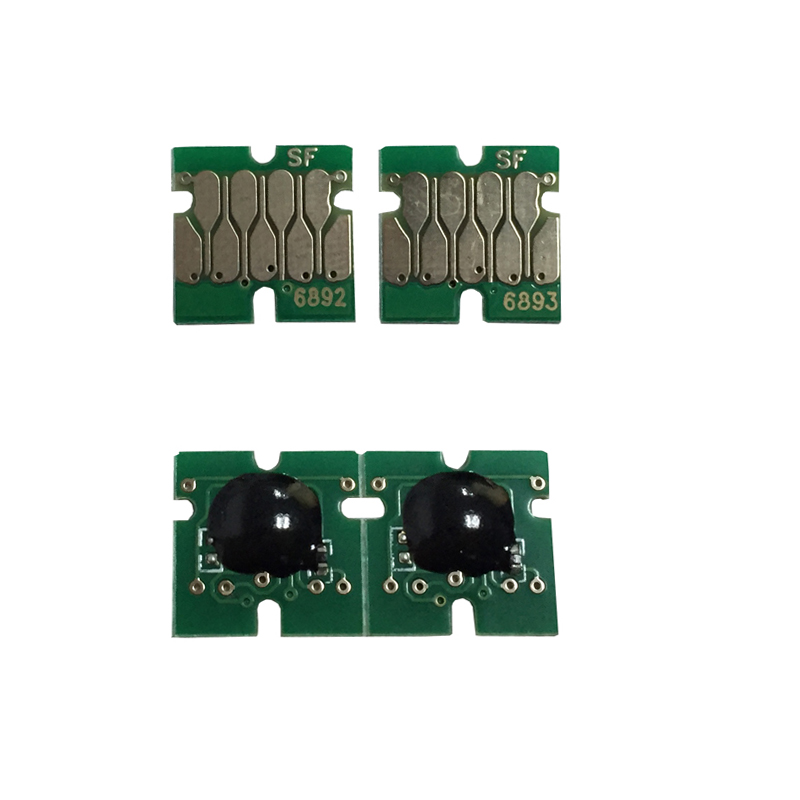 4 pcs T6891 one time Chips for <font><b>EPSON</b></font> Surecolor <font><b>S30670</b></font> S50670 One time Chip image