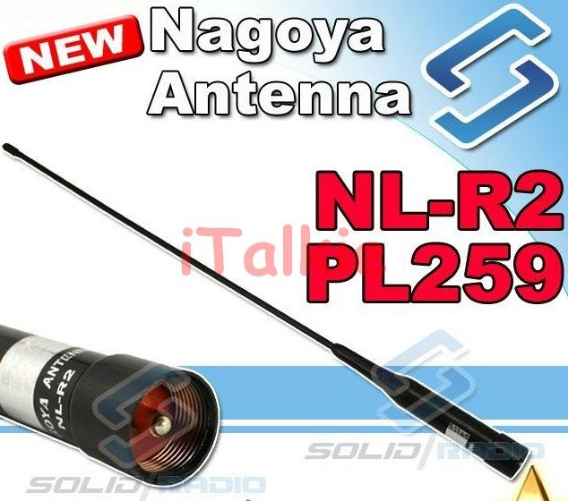 5 pcs NAGOYA NL R2 PL259 high gain Dual Band Car Antenna for Ham Radio, two  way radio mobile antenna NLR2-in Walkie Talkie from Cellphones &