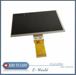 Original 7inch 164*97mm LCD screen for 1024*600 7300101462 E242868 Tablet PC free shipping