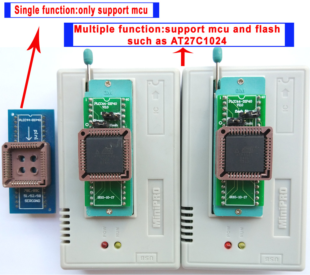 Buy V735 Xgecu Tl866ii Tl866 Ii Plus Usb Isp Pc Software For Programming This At89s51 52 Microcontroller Can Be Programmer 13 Adapter Socket Sop8 Clip 18v Nand Flash 24 93 25 Mcu Bios Eprom Avr Program From