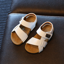 Sport Sandal Boys Summer Shoes Kids 2019 Toddler Leather Sandals Roman Style Beach Baby Girls Fashion For Boy