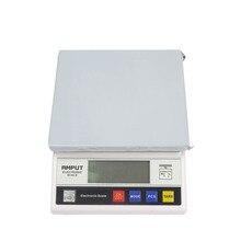 1 шт. 7,5 кг X 0,1 г цифровые прецизионные промышленные весы, весы W, настольные весы, электронные лабораторные весы