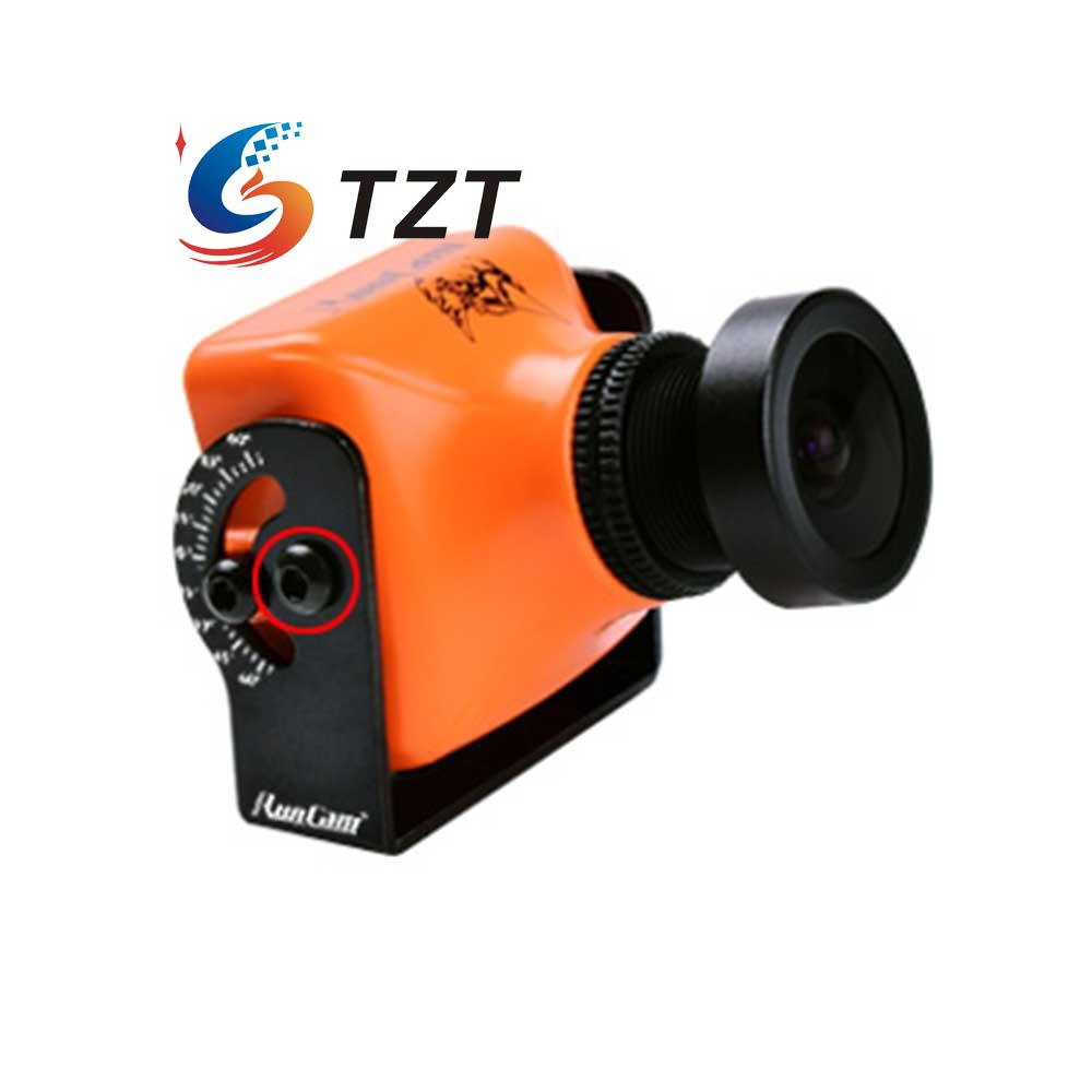 ФОТО RunCam Eagle FPV Camera 800TVL Global WDR FOV 130 16: 9 5-22VDC for Drone Quadcopter Orange
