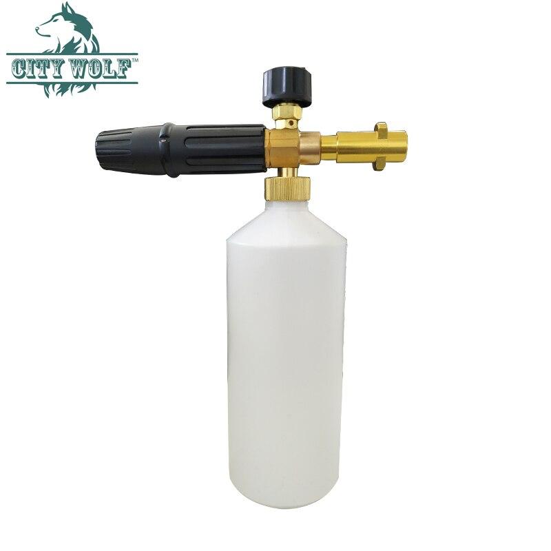 Image 3 - High Pressure Soap Foamer Sprayer/ Foam Generator/ Foam Gun Weapon/ Snow Foam Lance for Karcher K2 K3 K4 K5 K6 K7 Car Washer-in Car Washer from Automobiles & Motorcycles