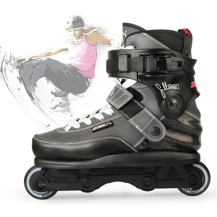Original SEBA CJ Aggressive Skates Professional Extreme Inline Skates Carbon Fiber Roller Skating Shoes Free Skating Patines used formatter board logic main board for epson l1300 me1100 t1100 t1110 b1100 w1100 1100 pca assy mainboard mother board