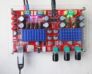 Image 2 - TDA3116 2.1 Canali Bluetooth subwoofer Bordo Amplificatore 2*60W + 100W di Potenza Stereo Amplificatore Audio Amplificatore per Basso