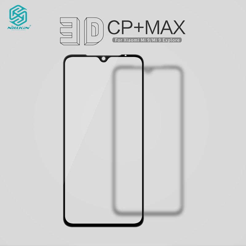 For Xiaomi Mi9 Pro Tempered Glass Nillkin CP+ Max Full Cover Screen Protector For Xiaomi Mi 9 3D Glass-in Phone Screen Protectors from Cellphones & Telecommunications on