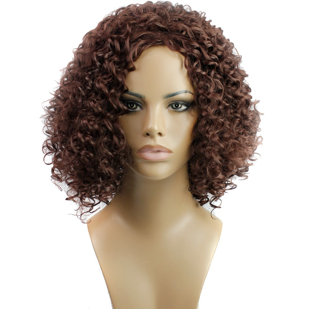 2015 women synthetic hair none lace wigs natural wigs noodles 2015 women synthetic hair none lace wigs natural wigs noodles curly short fashion hairstyle can perm darkbrown color none bang on aliexpress alibaba urmus Image collections