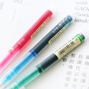 Цветная прямая жидкая гелевая ручка JIANWU, 7 шт./компл., художественная ручка для нойтера, деловые школьные офисные принадлежности