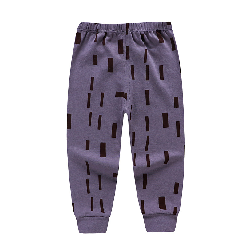 Trousers Underpants Baby-Boys-Girls Children's Fashion Pure-Cotton Pyjamas 0-4-Years-Old