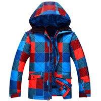 Новый Для мужчин зимняя Лыжная куртка теплая Водонепроницаемый ветрозащитный дышащий альпинизм Лыжный Спорт Сноубординг Костюмы куртка с