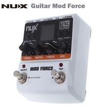 NUX Mod Force Guitar Effect Pedal 12 Multi Modulation Color Screen High Quality Guitar parts & Accessories