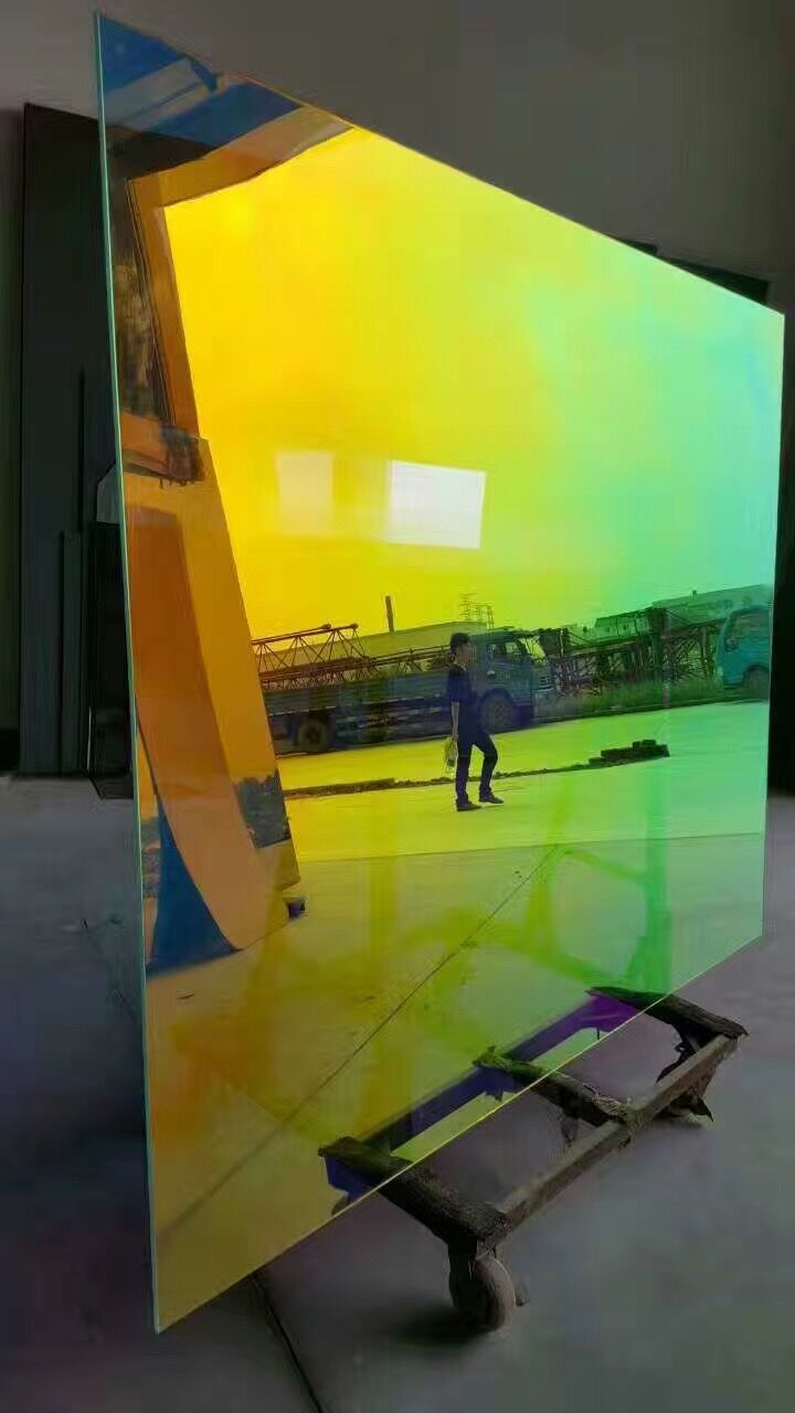 Self Adhesive Dichroic Building PET Window Film for Glass or Acrylic ...