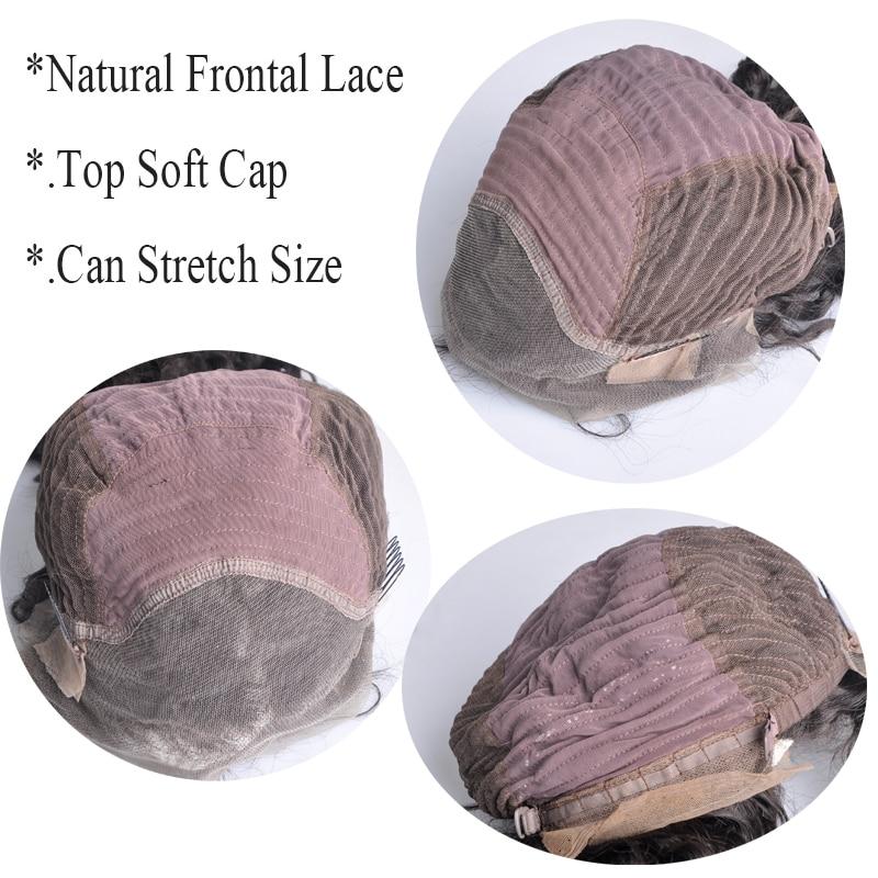 body wave brazilian hair lace frontal wig