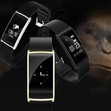 Оригинальный N108 сердечный ритм измерять кровяное давление браслет Смарт Спорт браслет bluetooth оксиметр запястье для IOS телефона Android