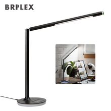 Brilex LED Desk Table Lamp Classic 3 color Lighting Modes Wireless Charging For Phone Bedroom Foyer Study Lamps USB Charging цена 2017