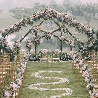 Wedding Artificial Silk Rose Row DIY Background Decoration Fake Flowers Party Events Opening Studio Props Dress Up Flower