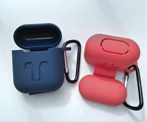 Image 4 - DHL עבור אפל AirPods מגן עמיד הלם סיליקון Case פאוץ עם אבק Plug קמעונאות חבילה עבור iPhone 7 Bluetooth אוזניות