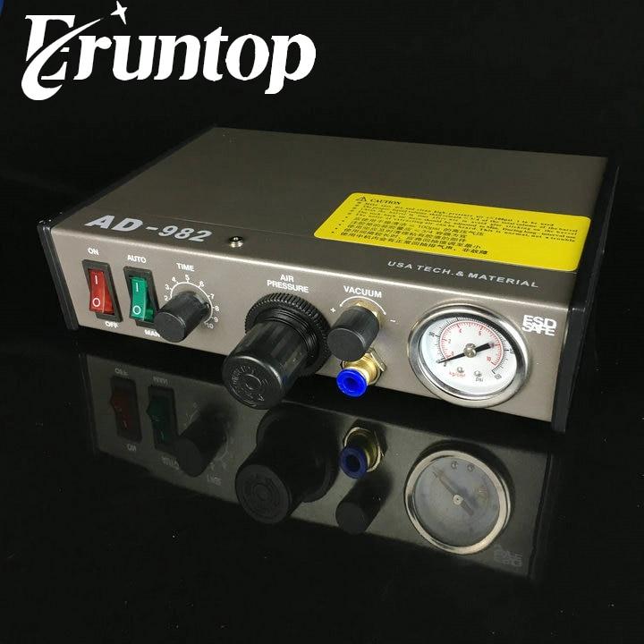 Auto Glue Dispenser Solder fluxes Paste Liquid Controller Dropper AD-982Auto Glue Dispenser Solder fluxes Paste Liquid Controller Dropper AD-982