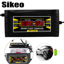 Full Automatic Car font b Battery b font Charger 150V 250V To 12V 6A Smart Fast