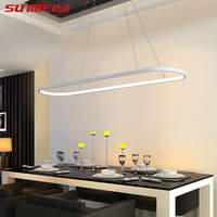 Modern LED Pendant Lights lustres e pendentes para sala de jantar Living room kitchen Indoor Lighting luminaria led Nordic Lamp