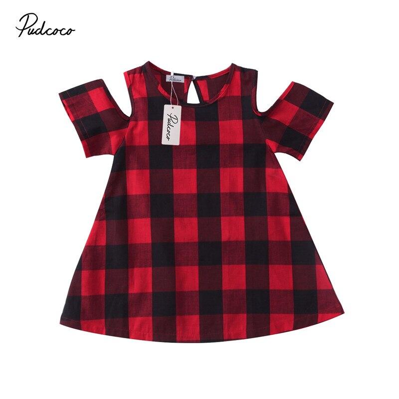 1 до 5 т одежда для малышей Детское платье для девочек Лидер продаж короткий рукав плед с плеча одежда платье принцессы костюмы для вечеринок