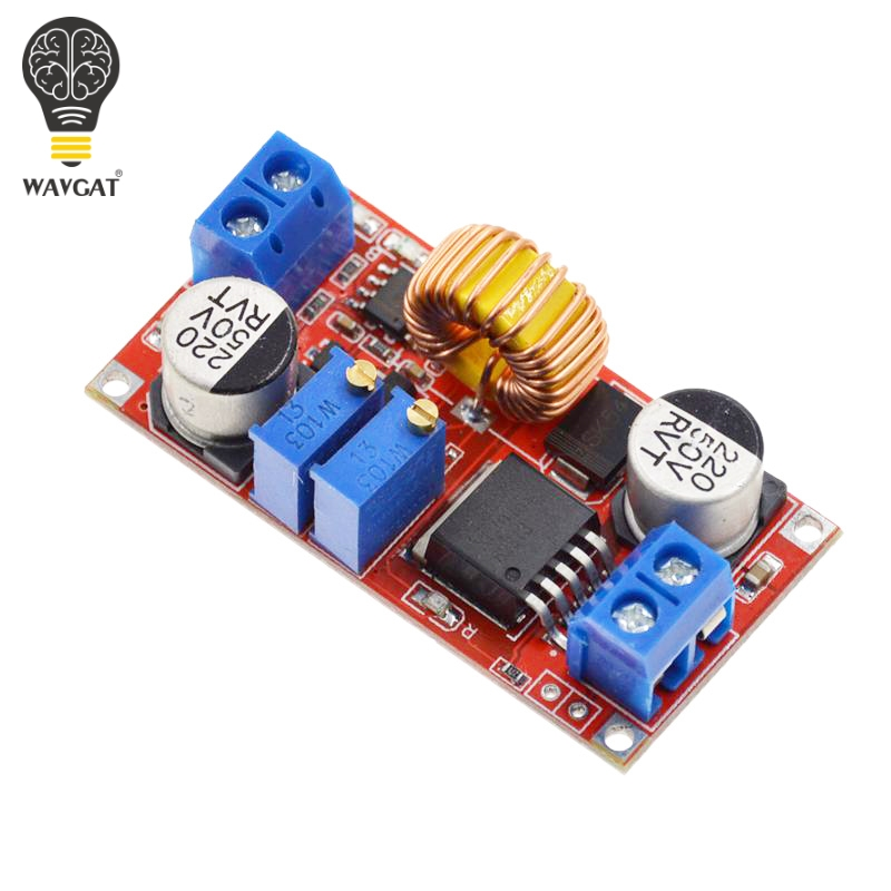 Image 5 - Original 5A DC to DC CC CV Lithium Battery Step down Charging Board Led Power Converter Lithium Charger Step Down Module XL4015-in Integrated Circuits from Electronic Components & Supplies