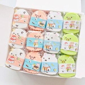 Image 1 - 24 pcs/lot Creatures Tuanzi Family Sumikko Gurashi Eraser Rubber Eraser Primary Student Prizes Promotional Gift Stationery