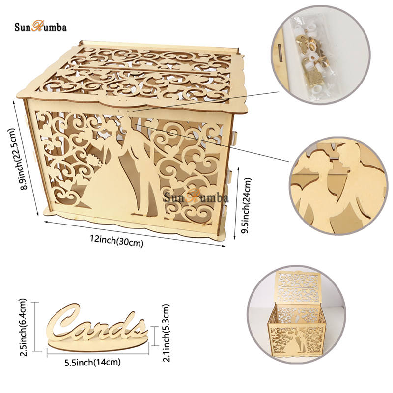 Wedding card box MUW-331-10