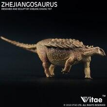 2018 Vitae Jurassic dinosaur animal model Zhejiangosaurus lishuiensis ankylosaurus 1:35