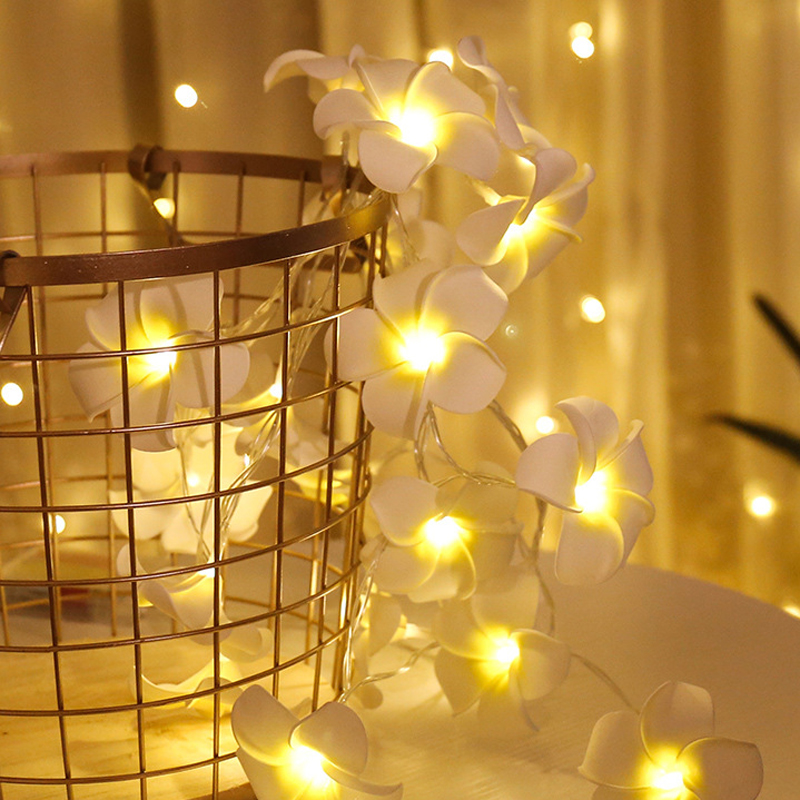 10 Led 20 Leds Romantic Rose Flower String Light For Holiday Wedding Xmas New Year Home Dedroom Table Decor AA Battery Garland (3)
